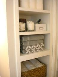 ideas for bathroom shelves bathroom closet storage bathroom shelves linen closet