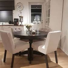 Dining Room Excellent Table And  Chairs Set Small Round Kitchen - Amazing round white dining room table property
