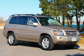mileage toyota highlander used toyota highlander 2001 2007 expert review