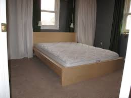 ikea malm bed frame hack ikea malm bed frame for stylish bedroom mattress and ideas image