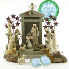 nativity sets willow tree complete 22 nativity set by susan