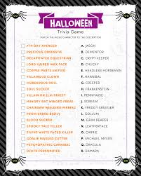 Halloween Quiz For Kids Printable by Halloween Trivia Print Lil U0027 Luna