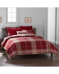 new savings on cuddl duds 6 plaid flannel comforter set