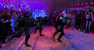 film ninja dancing teenage mutant ninja turtles ii dance battle youtube