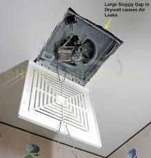 Retrofit Bathroom Fan How To Install A Panasonic Whisperceiling Bathroom Vent Fan