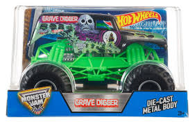 grave digger radio control monster truck wheels monster jam grave digger vehicle walmart canada