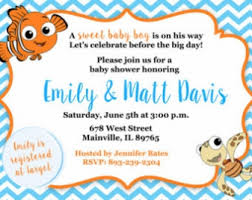 nemo baby shower top 13 finding nemo baby shower invitations to inspire you