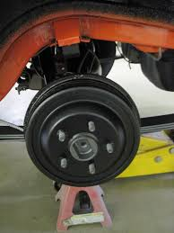 there are probably lots of folks that will say hey that brake drum should not have any paint well we looked at a bunch of original cars and decided