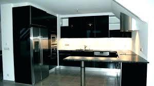 cuisine noir laqué meuble de cuisine noir laque brainukraine me
