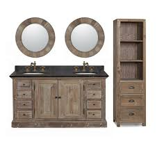 Bathroom Vanity Deals by Legion 60 Inch Rustic Double Sink Bathroom Vanity Wk1860 Marble Top