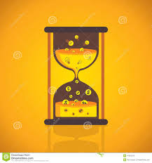 creative sand clock vector stock vector image 41893378