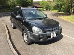2006 hyundai tucson crtd gsi black 1 year mot in high wycombe