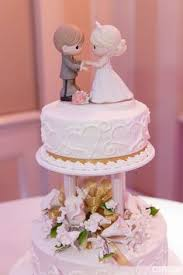 precious moments bride groom wedding cake topper photo