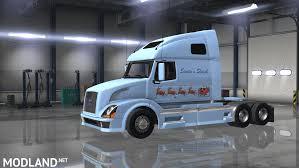 american volvo trucks santa u0027s volvo 670 mod for american truck simulator ats