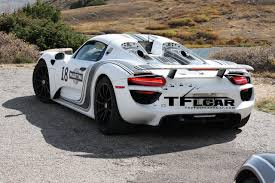 porsche prototype 2015 spied on video porsche 918 spyder prototype high altitude testing