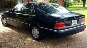 mercedes s500 1996 buy used 1996 mercedes s500 base sedan 4 door 5 0l in miami