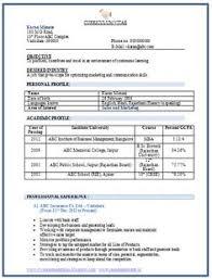 cv format for mca freshers pdf files best resume format for freshers pdf niveresume pinterest