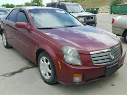 cadillac cts 2003 for sale salvage title 2003 cadillac cts sedan 4d 3 2l 6 for sale in reno