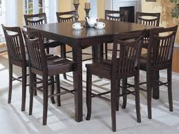 high top dining room tables standard counter height kitchen high top dining room tables and