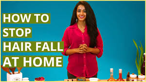 how to stop u0026 control hair fall for women at home natural