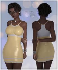 g3f conform to trend 01 sporty dress a lully creation at hivewire 3d