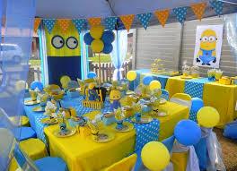 minion party party ideas
