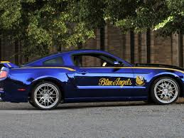 Blue And Black Mustang Ford U0027s Special Edition Mustangs Autobytel Com