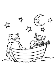 coloring pages of stars and moon coloring pages