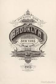 Brooklyn Ny Map Print Collection Brooklyn Fire Insurance Map