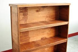 encouraging rustic bookshelf end with furniture easy custom