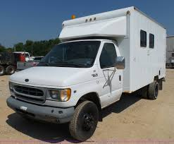 2000 ford econoline e450 fiber cable van item k1165 sold