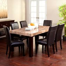 Stone Top Dining Room Tables Furniture Charming Dining Room Tables Granite Tops Beautiful