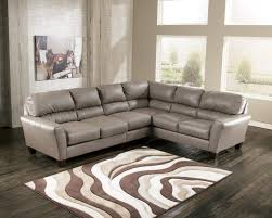 Modern Furniture Stores In San Francisco by Living Room Modern Leather Taupe Sectional Sofa Eco With Ottoman