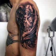 77 guardian tattoos on arm