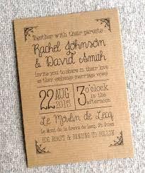 Rustic Invitations 31 Best Rustic Kraft Wedding Invitations Images On Pinterest