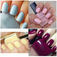 winter spring summer fall solid color nails naails