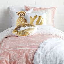full comforter on twin xl bed bedding category dorm room bedding sets twin xl looks palm leaf
