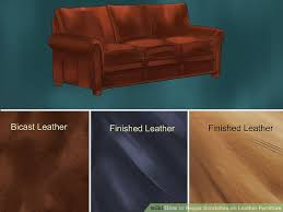 How To Repair Scratched Leather Sofa 3 Simple Ways To Repair Scratches On Leather Furniture Wikihow