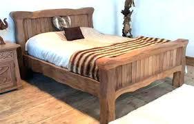 Solid Bed Frame King Copenhagen Platform Bed Wood Bed Frame King Solid Wooden Bed