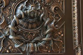 cool door knockers 3 dimensional caudatart