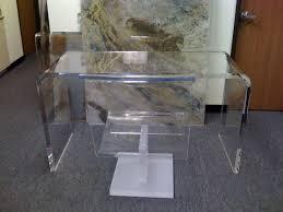 Clear Acrylic Desk Table Perfect Acrylic Desk Chair Home Painting Ideas