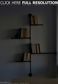 Hanging Wall Bookshelves by Bedroom Picturesque Hanging Wall Bookshelves Magnificent Book