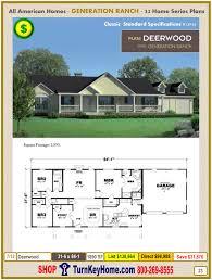 modular all american homes generation ranch home series catalog
