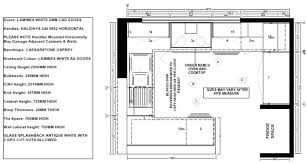 plan of kitchen layout home design