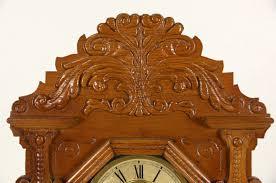 sold waterbury signed victorian antique 1890 u0027s carved oak shelf