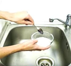clogged bathroom sink baking soda vinegar how to unclog a sink with baking soda and vinegar clean kitchen sink