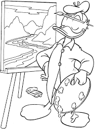 donald duck coloring pages donald duck kids printables 18237