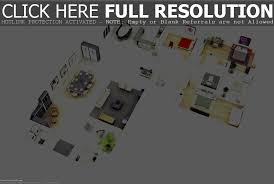 modern bungalow house with 3d floor plans and firewall home beauty
