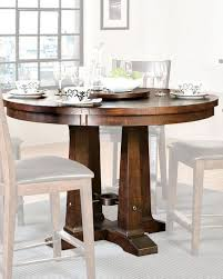 solid pine counter height dining table hayden inhy5454gtab