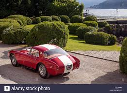 maserati a6gcs 1954 maserati a6 gcs on on the terrace of villa erbe lake como